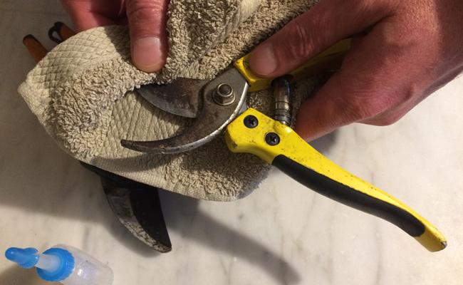 entretien et nettoyage des lames